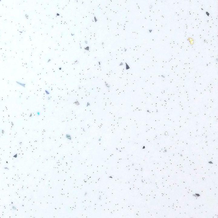 Столешница Ледяная искра белая 26 мм.