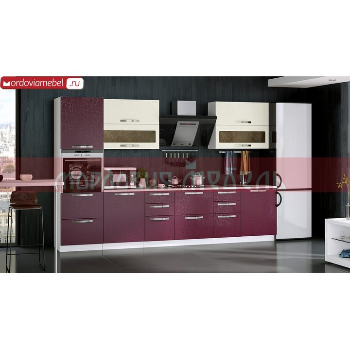 Кухонный гарнитур Чилисема 035