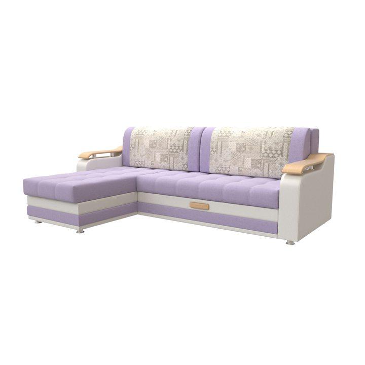 Угловой диван Манго А с оттоманкой
