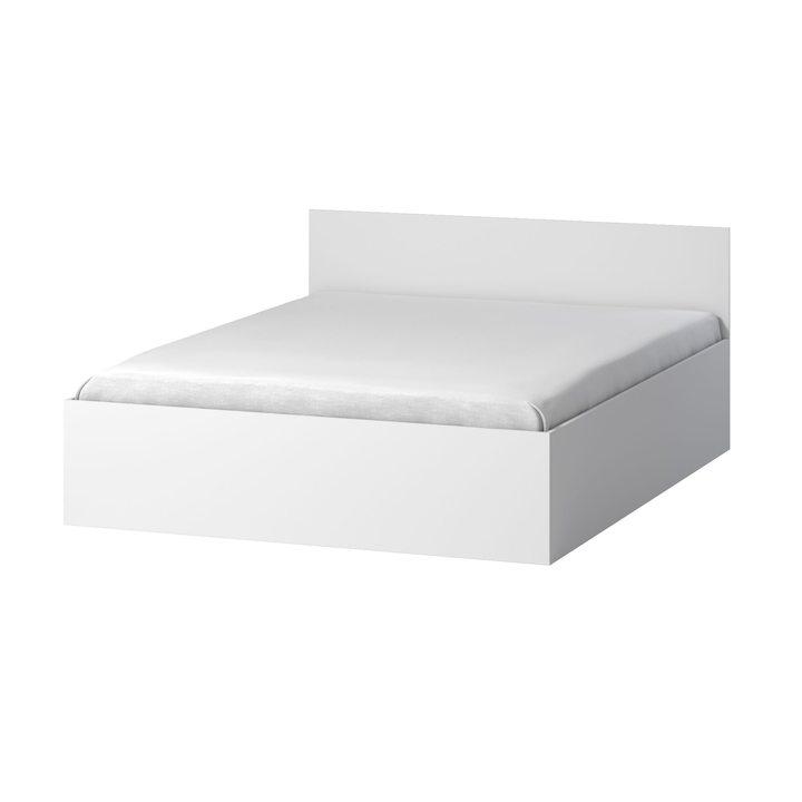 Тюс Кровать со спальным местом 2 х 1,6, ЛДСП белый