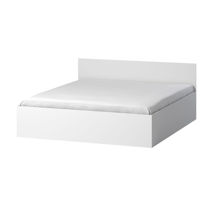 Тюс Кровать со спальным местом 2 х 1,8, ЛДСП белый