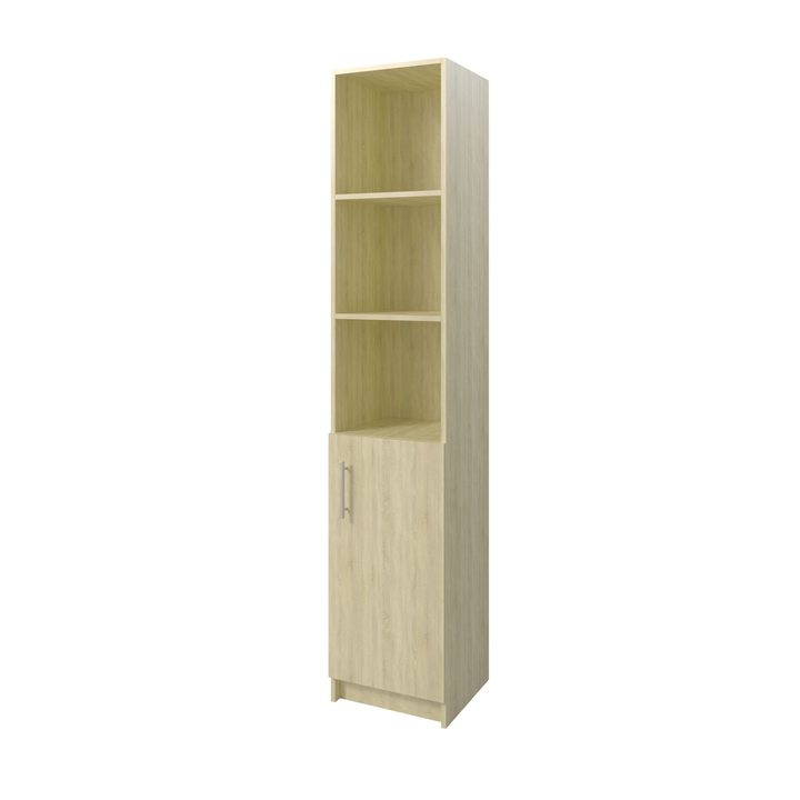 Толга Шкаф распашной комбинация для хранения с дверкой, ЛДСП дуб сонома