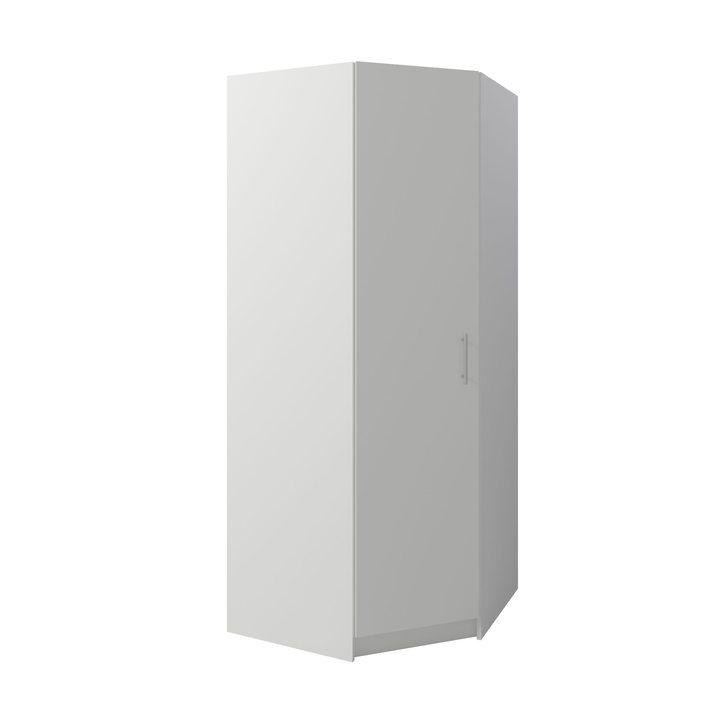 Тюс Шкаф распашной угловой 850х850, ЛДСП белый
