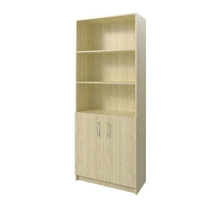 Толга Шкаф распашной комбинация для хранения с дверками, ЛДСП дуб сонома