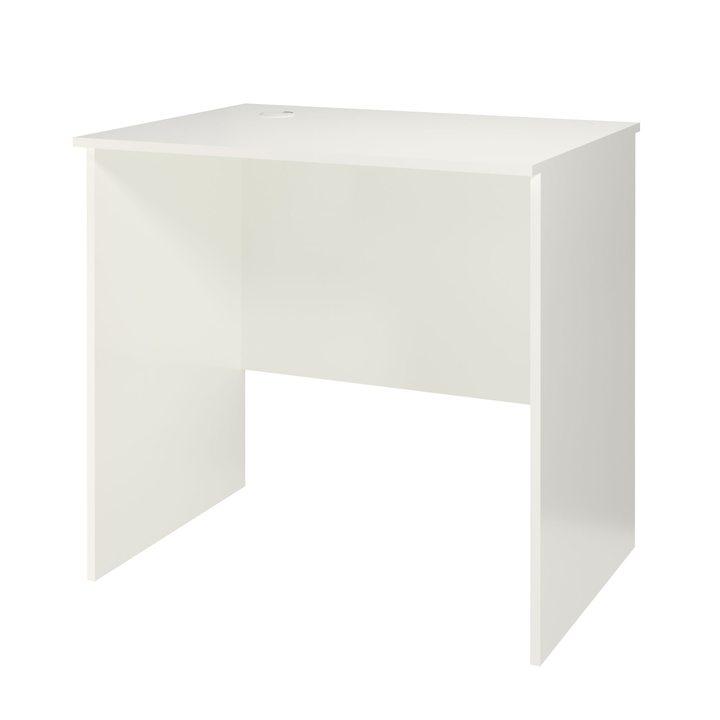 Менель Письменный стол 0,8 м, ЛДСП белый