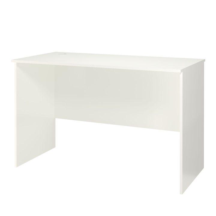 Менель Письменный стол 1,2 м, ЛДСП белый