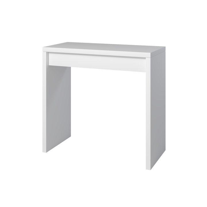 Аво Туалетный столик с 1 ящиком, ЛДСП белый